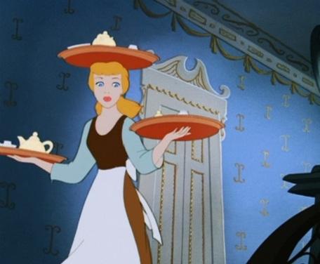 No one works harder than Cinderella