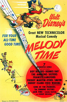 melody time movie poster