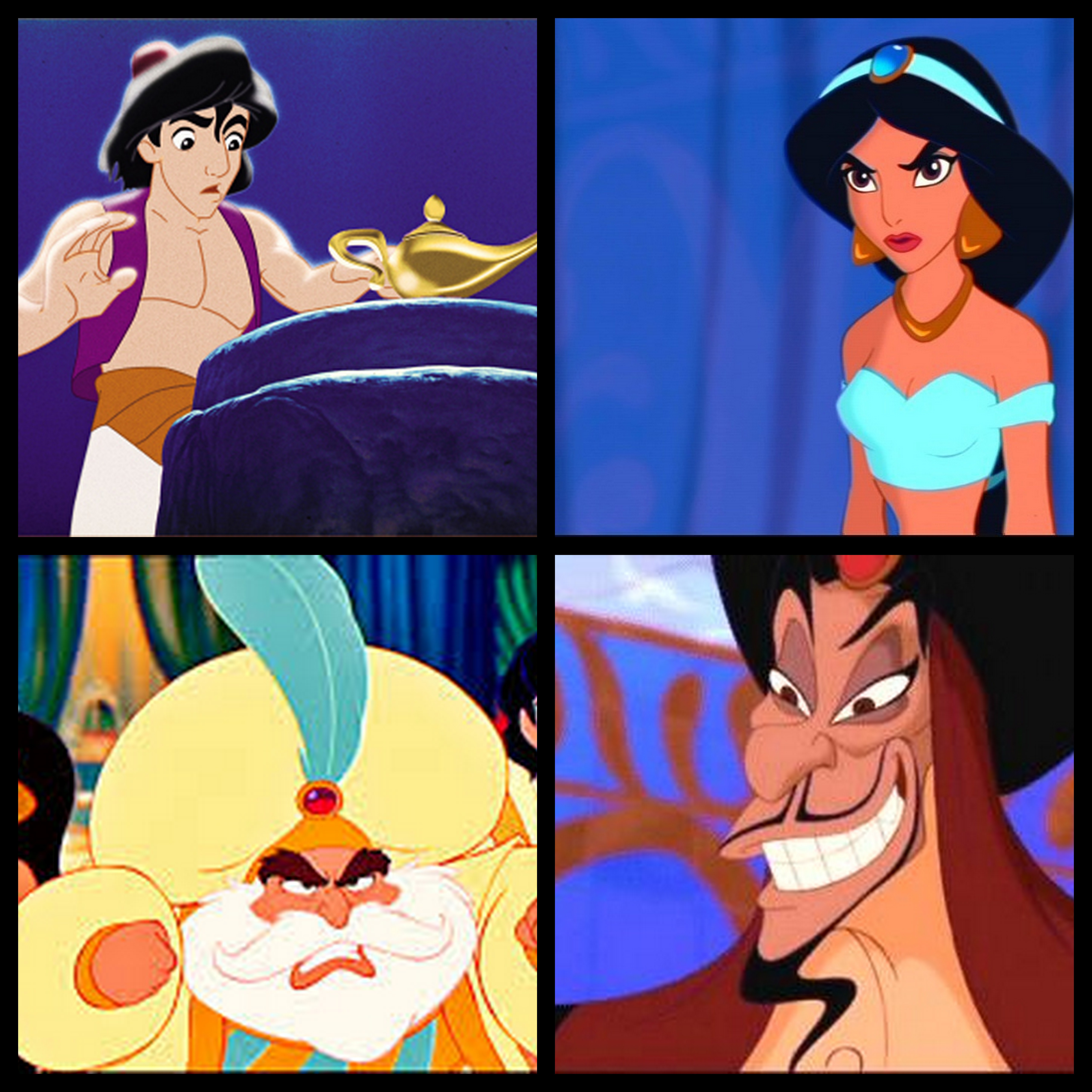 Movie 31: Aladdin – Reviewing All 56 Disney Animated Films And More! for Aladdin All Characters  193tgx