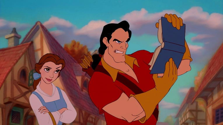 beauty and beast books gaston