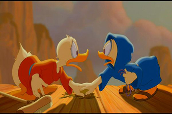 Fantasia 2000 Donald and Daisy Duck