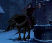 Image result for the hunchback of notre dame frollo and archdeacon