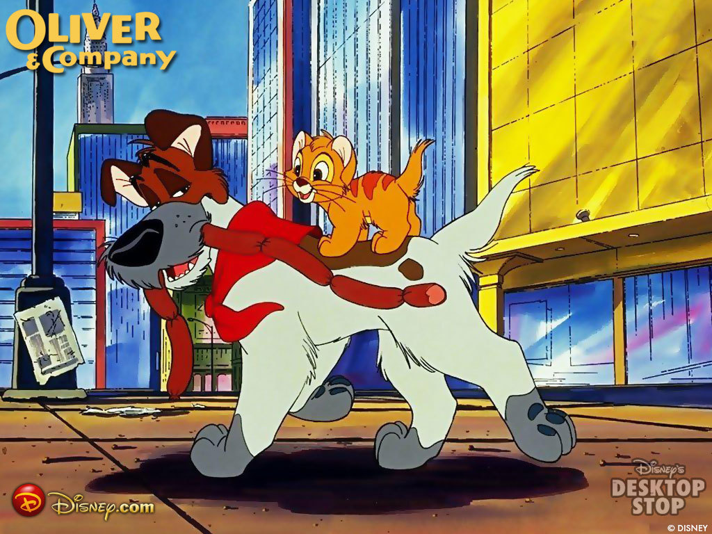 movie 27 oliver and company rachel 39 s reviews. Black Bedroom Furniture Sets. Home Design Ideas