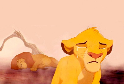 simba cries