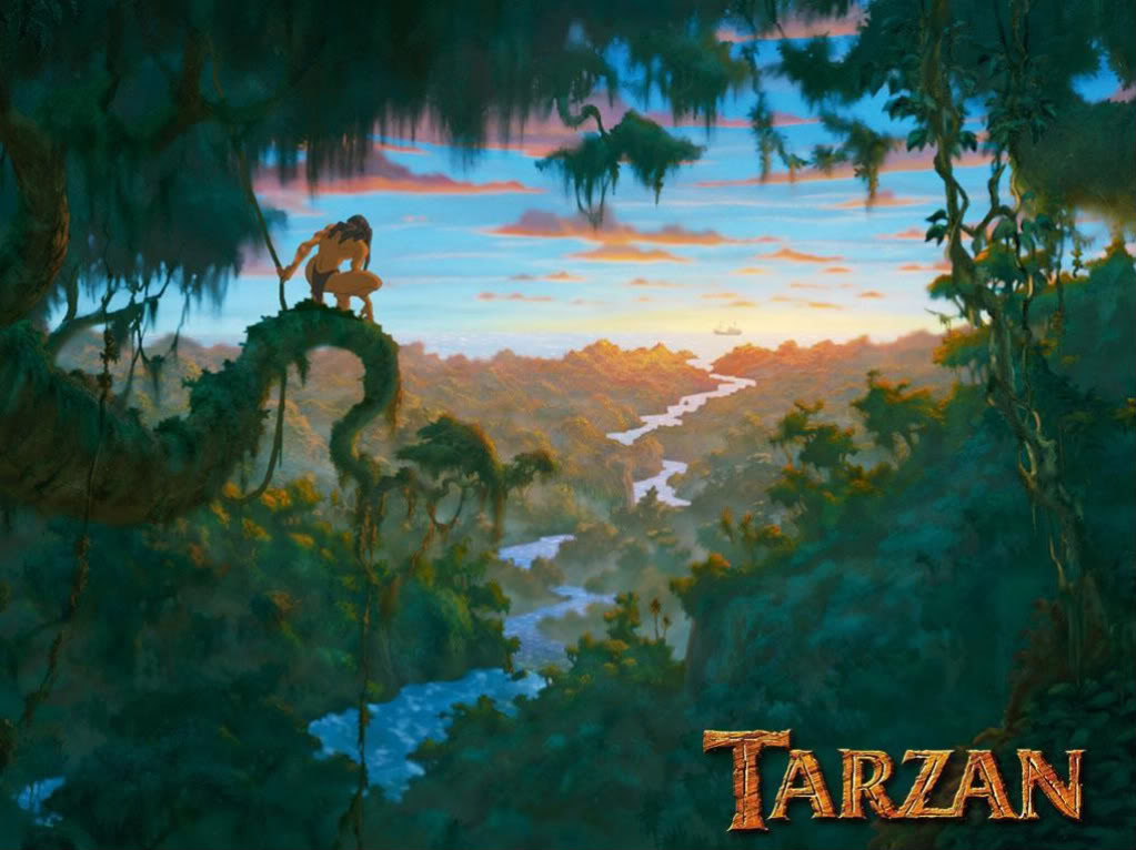Movie 37 tarzan rachel 39 s reviews - Tarzan wallpaper ...
