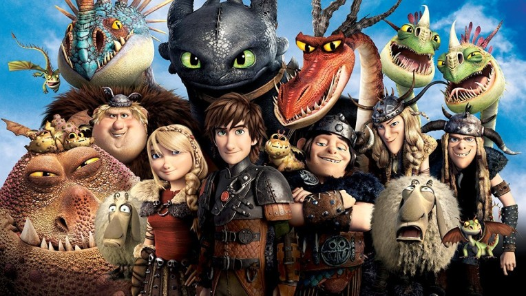 how to train your dragon cast