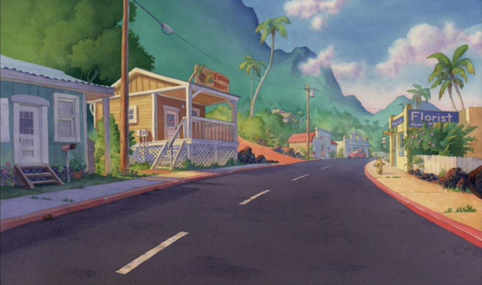 Resultado de imagen para lilo y stitch city scene