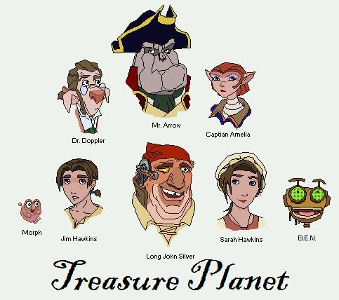 Movie 43 Treasure Planet Reviewing All 56 Disney