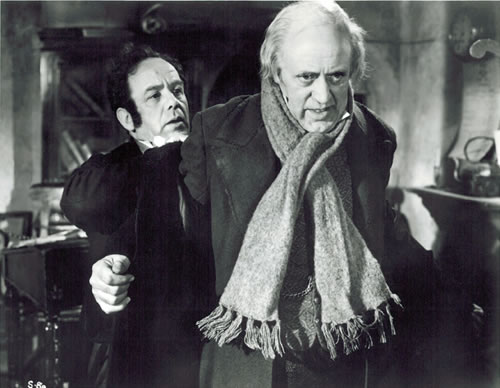 1951scrooge and cratchit