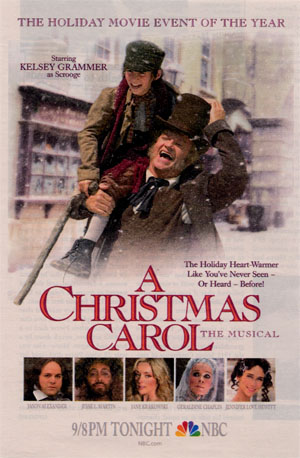 Scrooge 1: Christmas Carol: A Musical 2004 – Rachel's Reviews