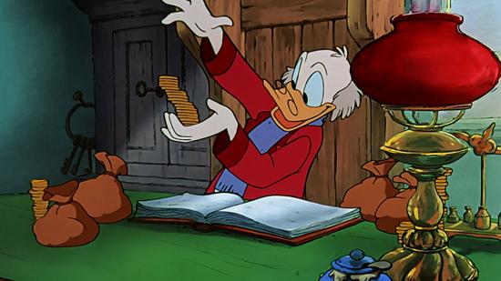 greedy scrooge mickey