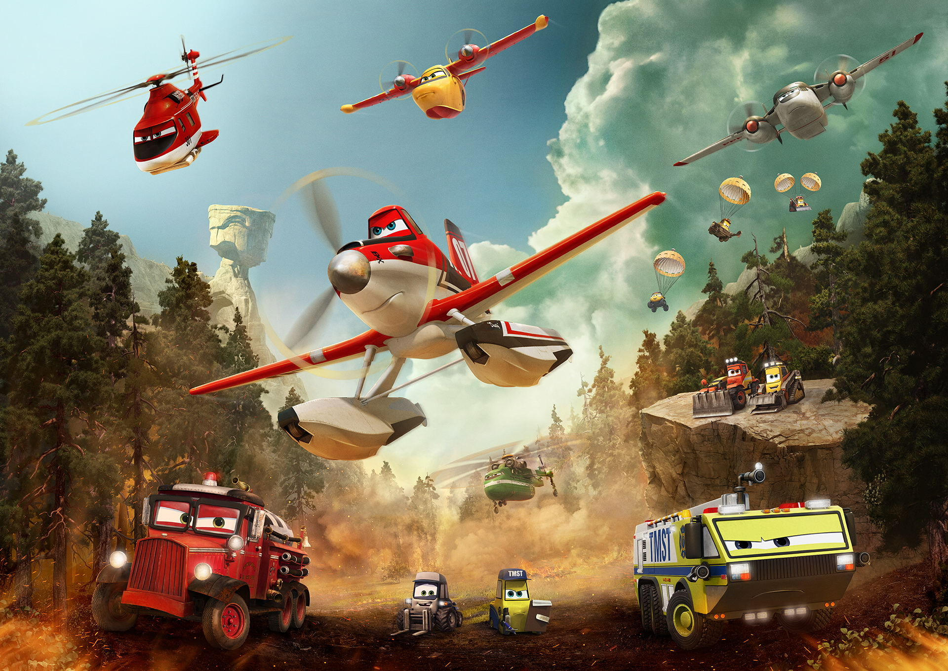 disney�s planes fire and rescue a review � reviewing all