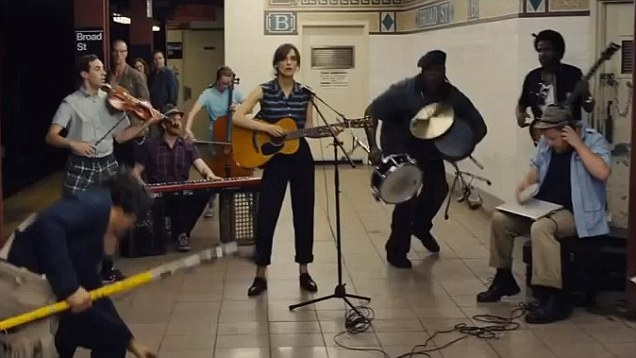 begin again subway