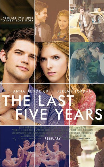 last five years poster