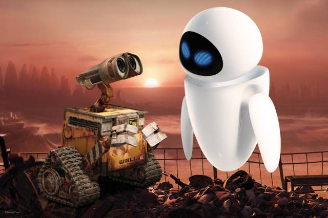 walle and eva