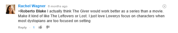 the giver 6 months