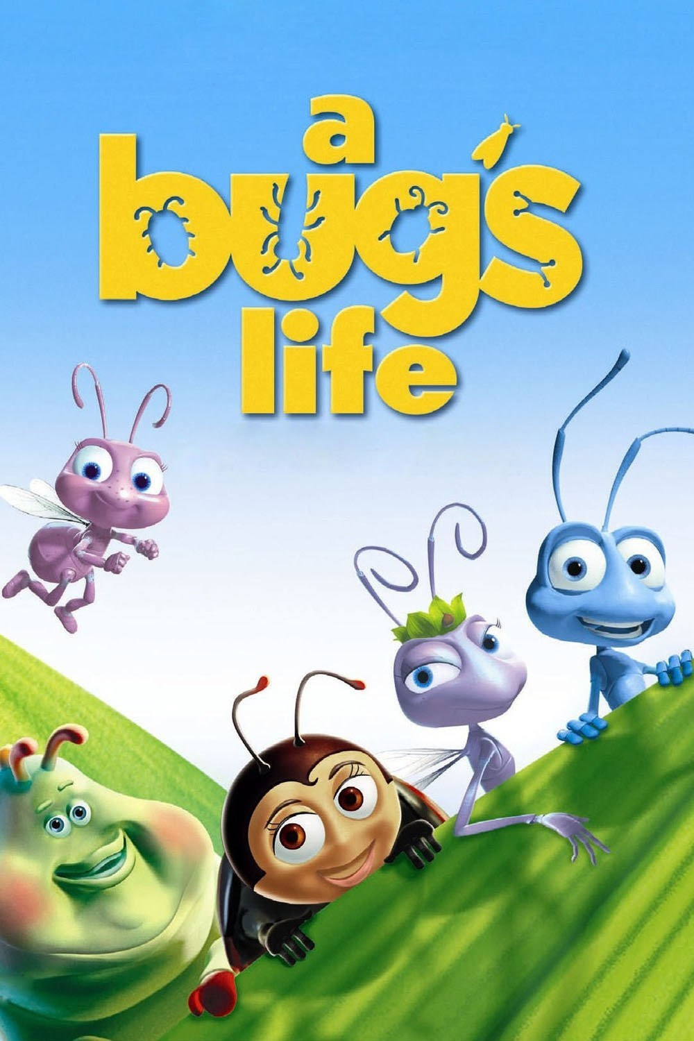 It is an image of Old Fashioned Characters in a Bug's Life