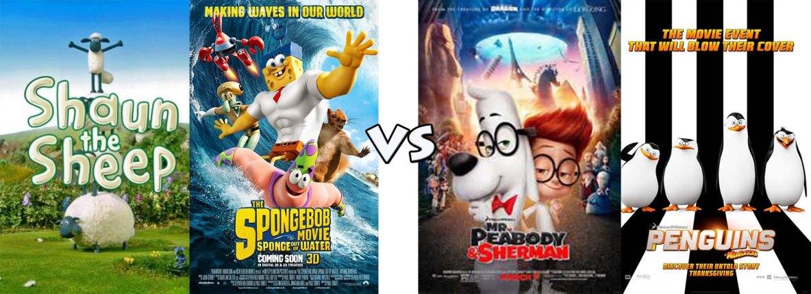 comedies vs