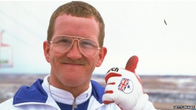 The real Eddie the Eagle