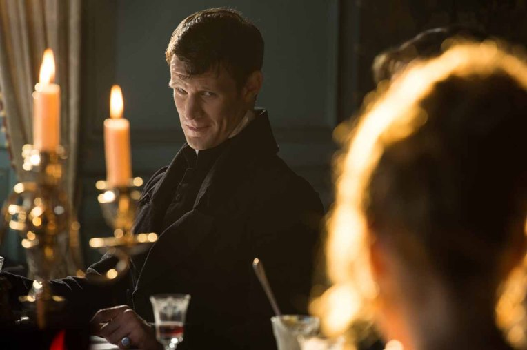 Matt Smith in Screen Gems' PRIDE AND PREJUDICE AND ZOMBIES.