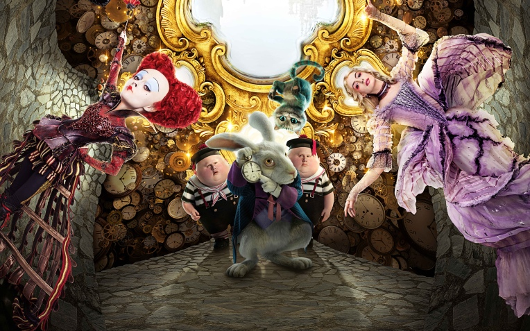 Alice-Through-the-Looking-Glass-Wallpaper