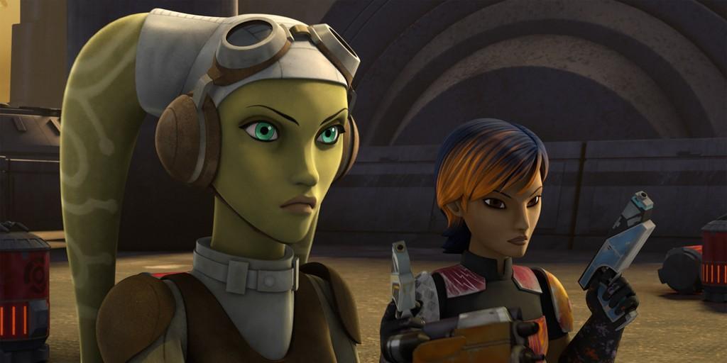 Star Wars Rebels Kanan And Hera Family