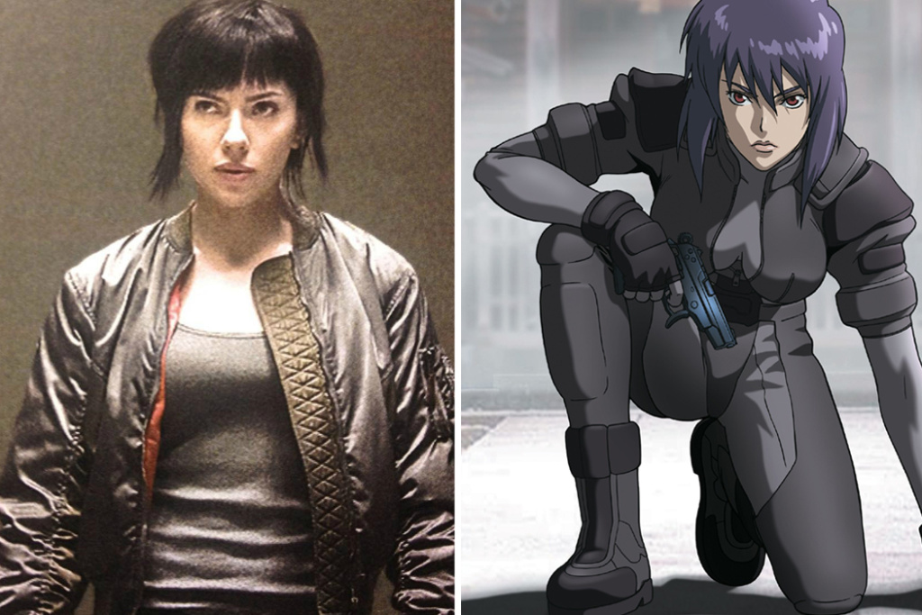 Like The Original This Ghost In Shell Focuses On A Cyborg Named Major Who Has Human Brain But Only Patchy Memories Of Her Past Life