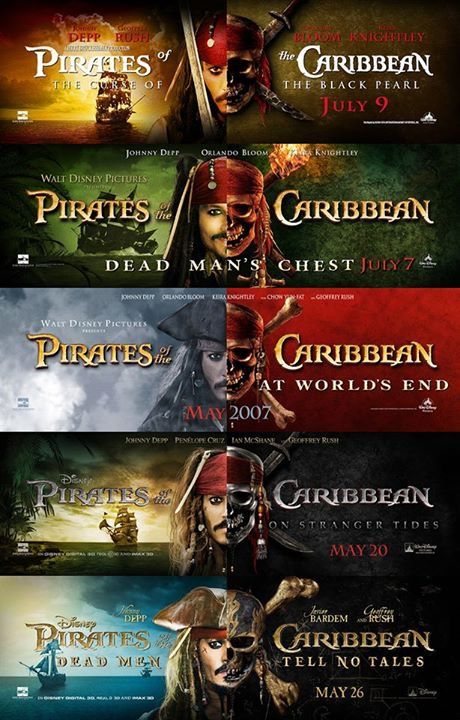 Image result for pirates of the caribbean ALL PART LIST